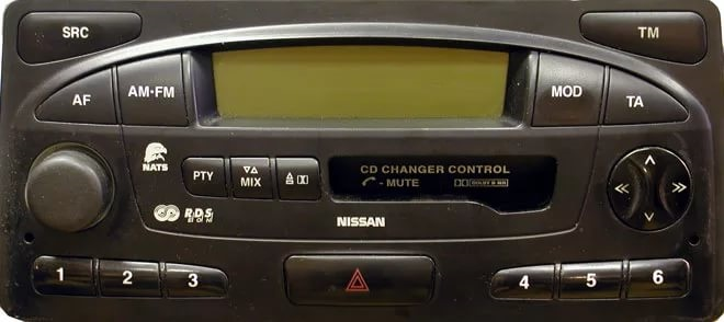 Nissan Infiniti Blaupunkt